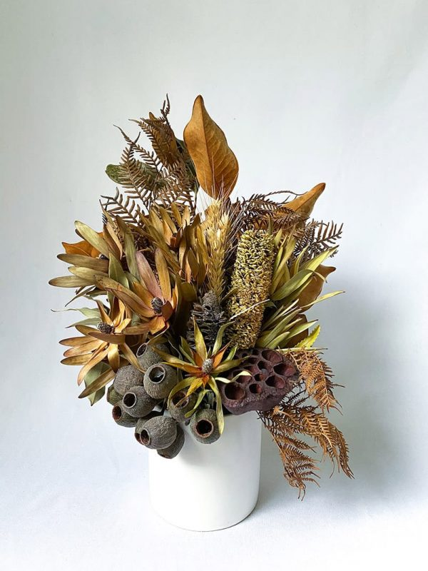 Small Dried Bouquet Natural