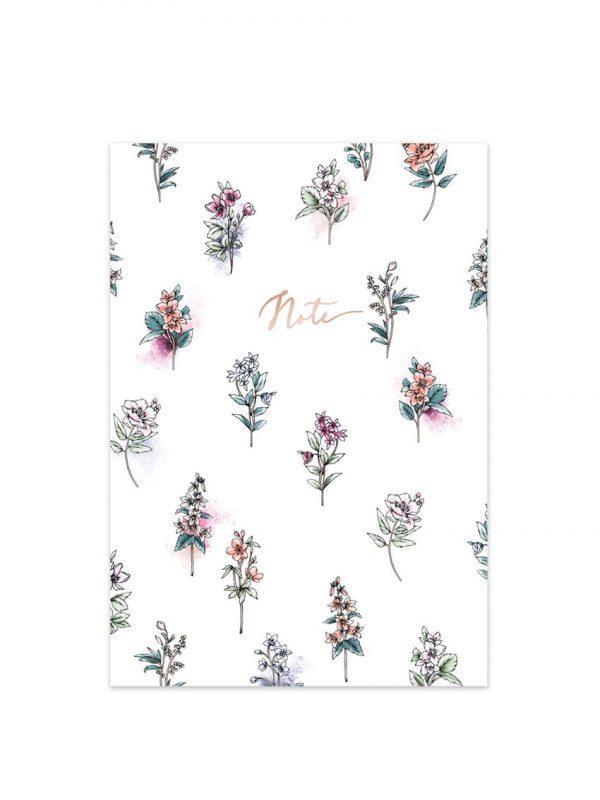 Typoflora Botanical Garden A5 Notebook