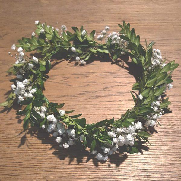 Delicate Full Flower Crown