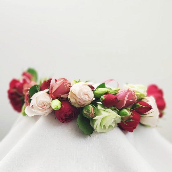 Flower Crown of Roses