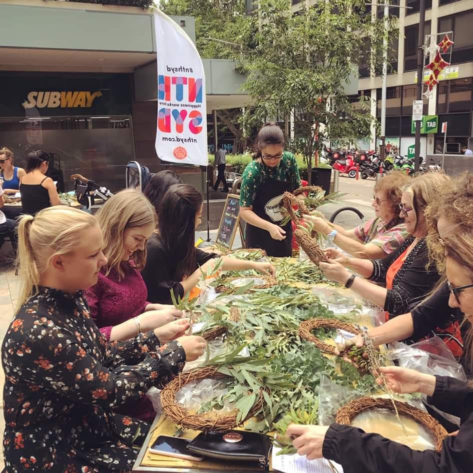 Public Wreath-making Workshop with North Sydney Council