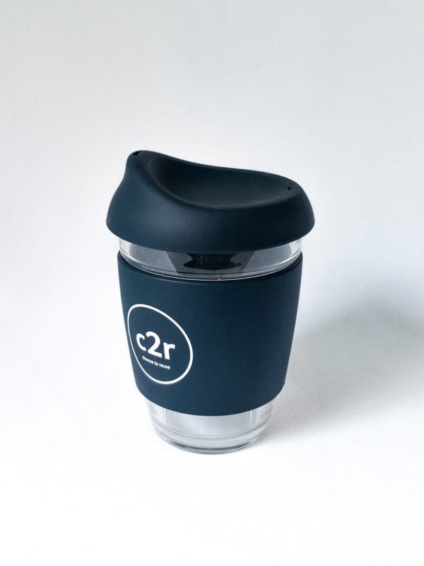C2R Glass Eco Cup • Navy