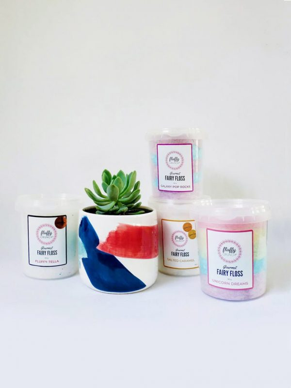 Fluffy Succer - Fluffy Crunch Gift Pack by Pot and Posy