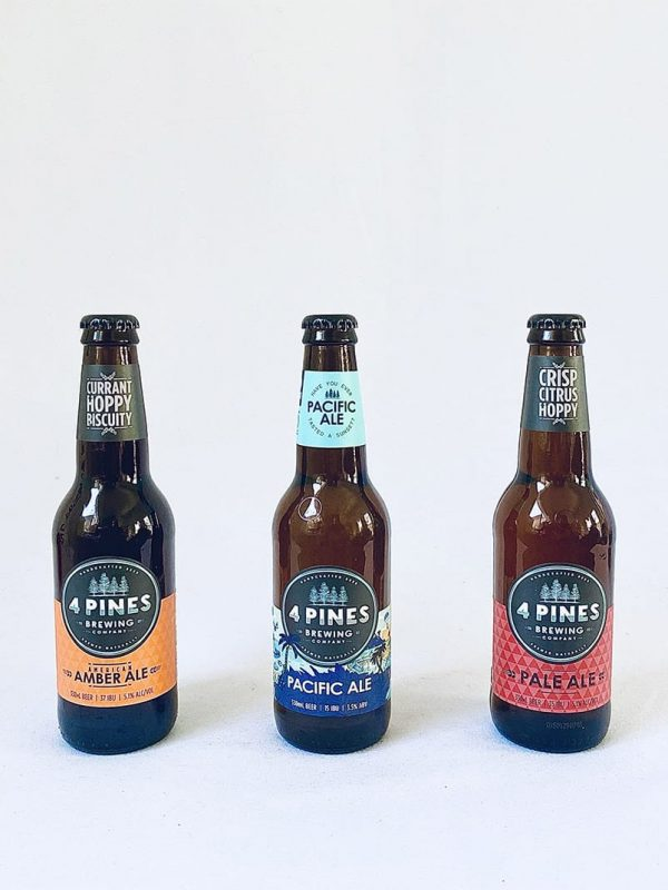 Four Pines Three Ale Taster