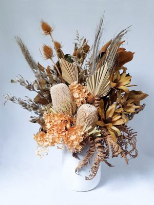 Large Dried Flower Bouquet Natural