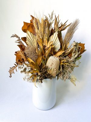 Natural Large Dried Flower Bouquet