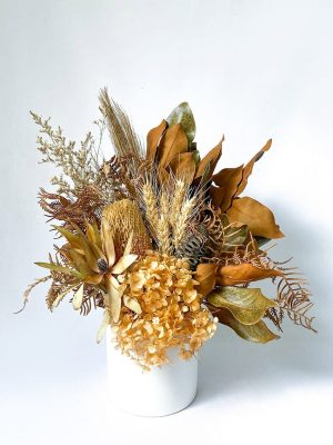 Small Flower Bouquet Gold